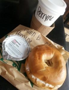 Dejeuner Starbucks