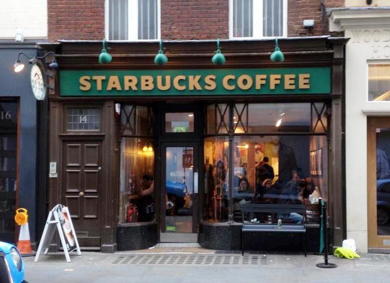 Au Royaume-Uni, Starbucks mise déjà largement sur la franchise.