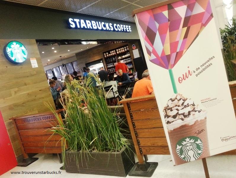 Starbucks Orly terminal ouest - www.trouverunstarbucks.fr