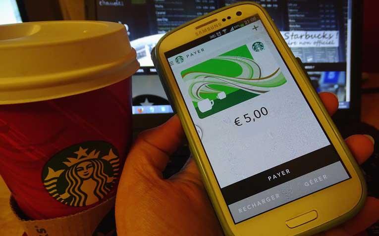 Appli mobile Starbucks