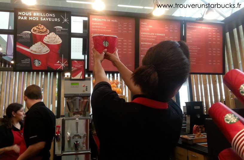 Starbucks aéroport Bordeaux - www.trouverunstarbucks.fr