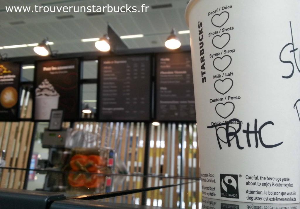 Starbucks Starbucks triple hot chocolate Bordeaux