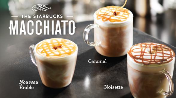 Starbucks trio macchiato