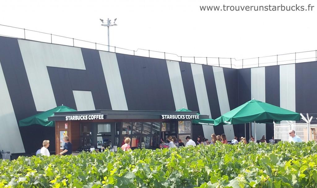 Bordeaux - Starbucks des vignes - trouverunstarbucks