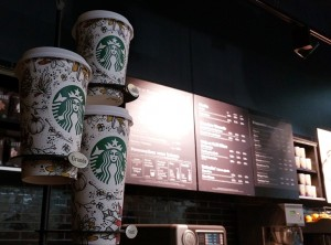 Cups automne Starbucks