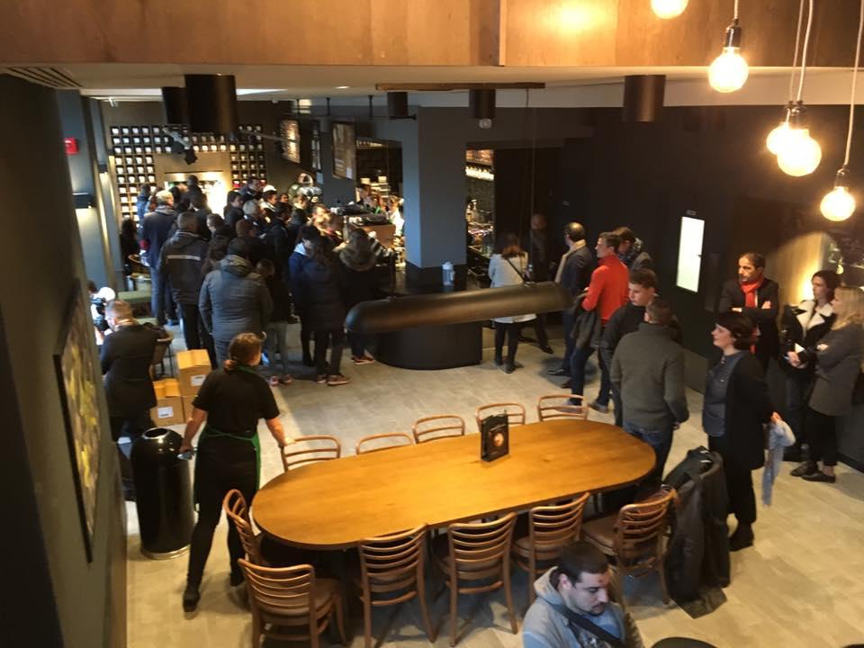 Ouverture Starbucks salon rdc