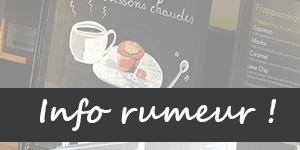 Informations et rumeurs autour de Starbucks en France